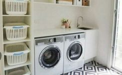 87 Outstanding Basement Laundry Rooms Decoration Models 26