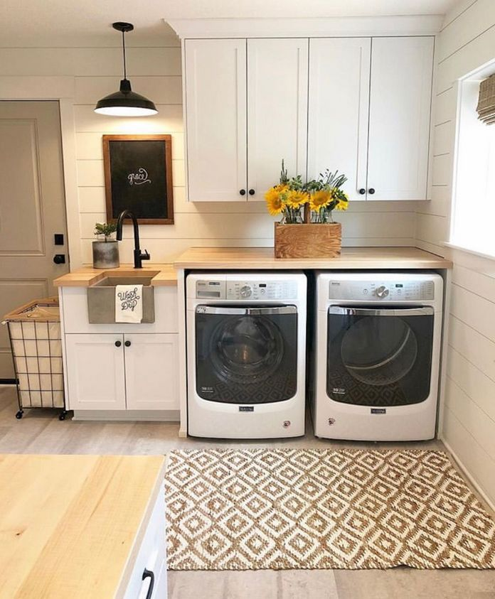 87 Outstanding Basement Laundry Rooms Decoration Models 29