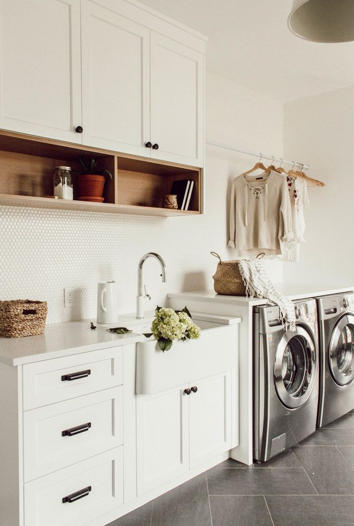 87 Outstanding Basement Laundry Rooms Decoration Models 42