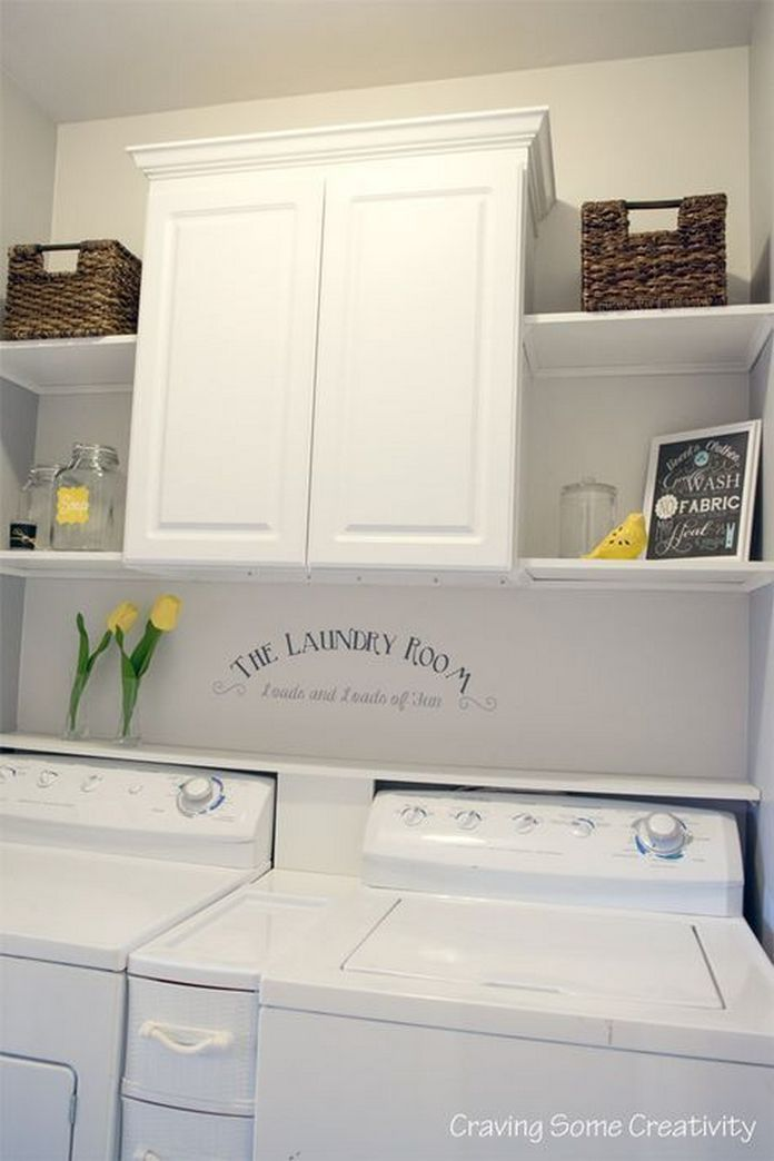 87 Outstanding Basement Laundry Rooms Decoration Models 46