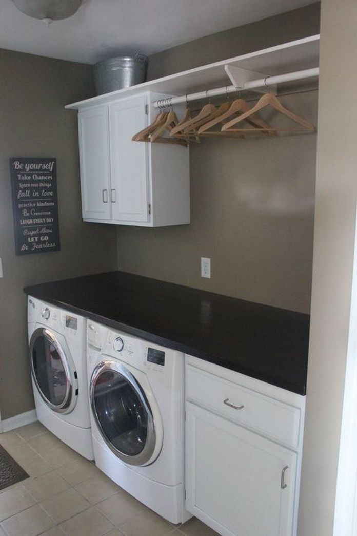 87 Outstanding Basement Laundry Rooms Decoration Models 58