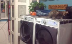 87 Outstanding Basement Laundry Rooms Decoration Models 69