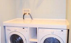 87 Outstanding Basement Laundry Rooms Decoration Models 70