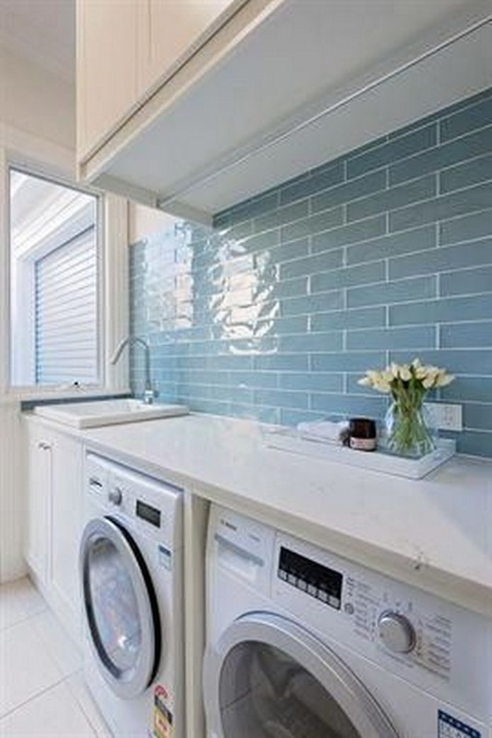 87 Outstanding Basement Laundry Rooms Decoration Models 72