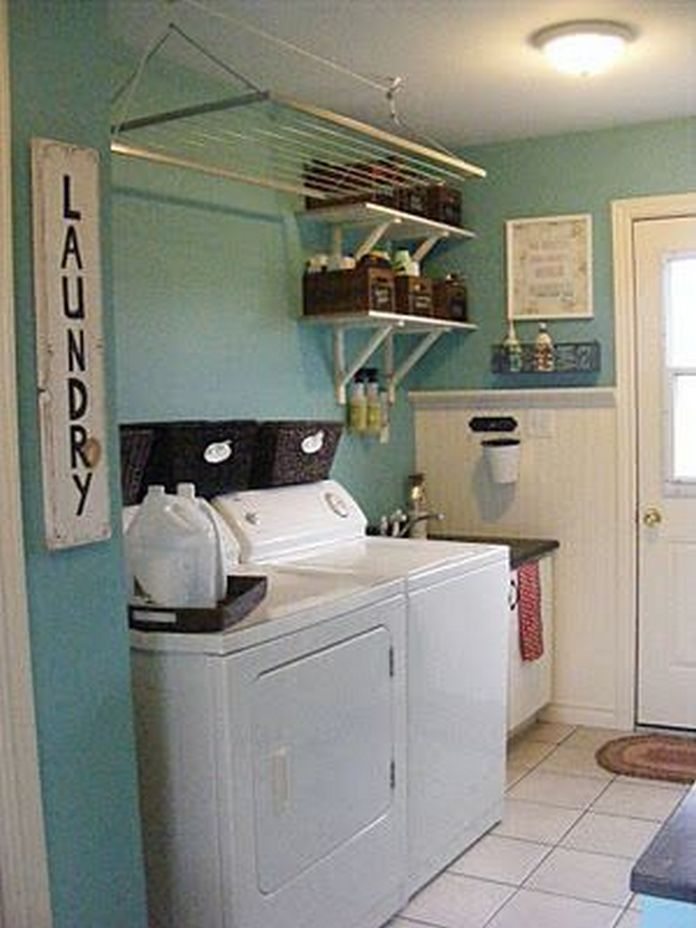 87 Outstanding Basement Laundry Rooms Decoration Models 73