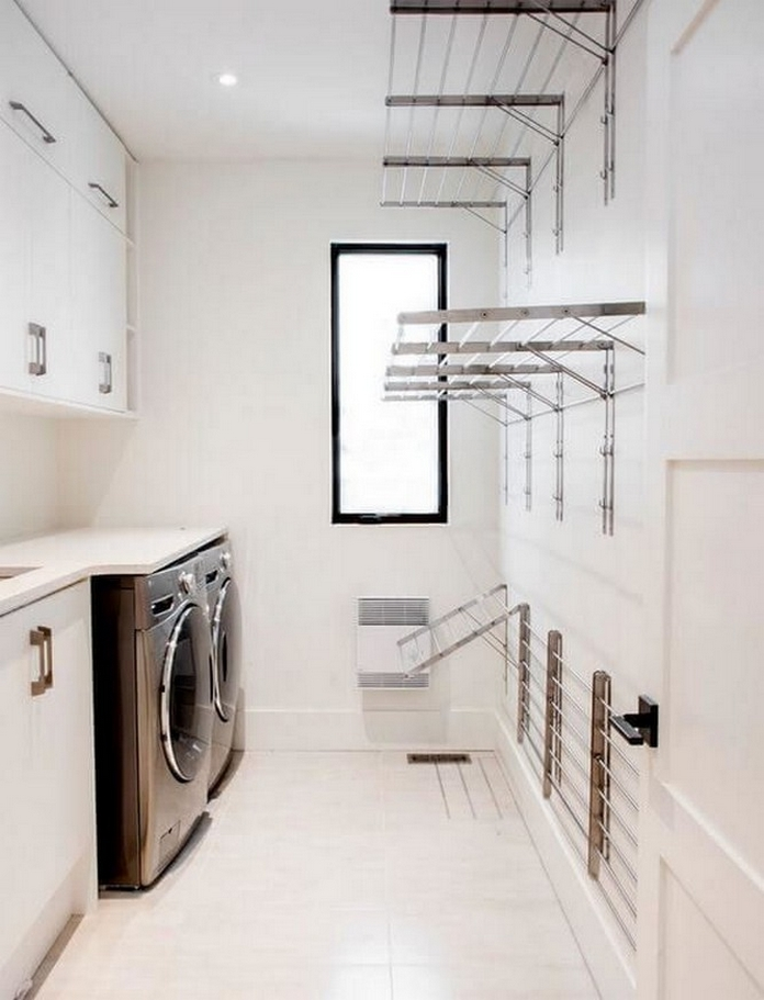 87 Outstanding Basement Laundry Rooms Decoration Models 87