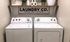 87 Outstanding Basement Laundry Rooms Decoration Models 9