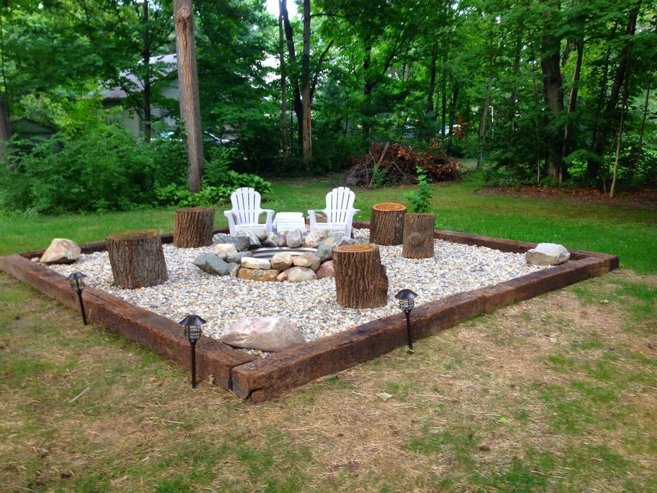 90 Fun Decoration Models Of Backyard Fire Pit Area 10