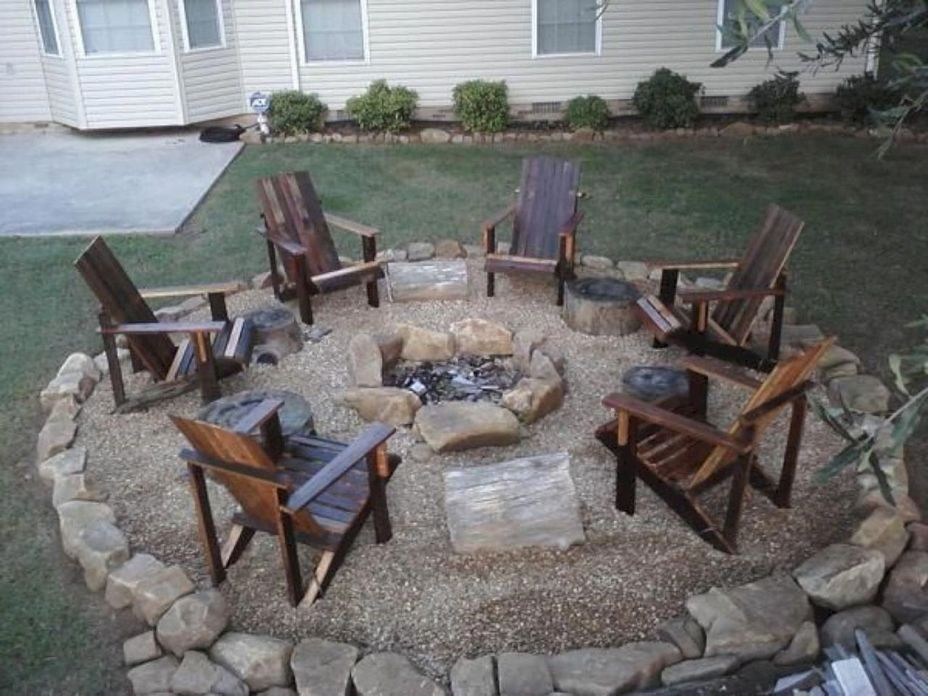 90 Fun Decoration Models Of Backyard Fire Pit Area 27