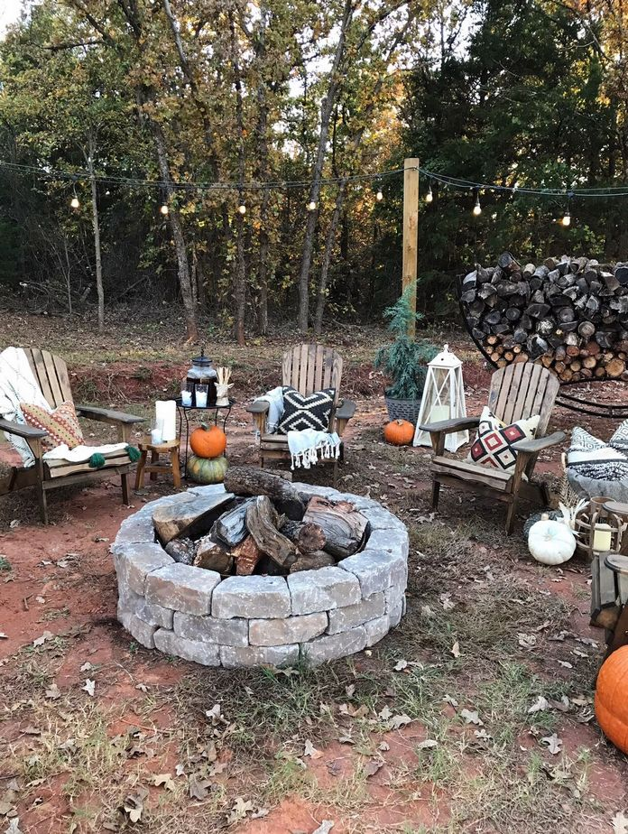 90 Fun Decoration Models Of Backyard Fire Pit Area 41