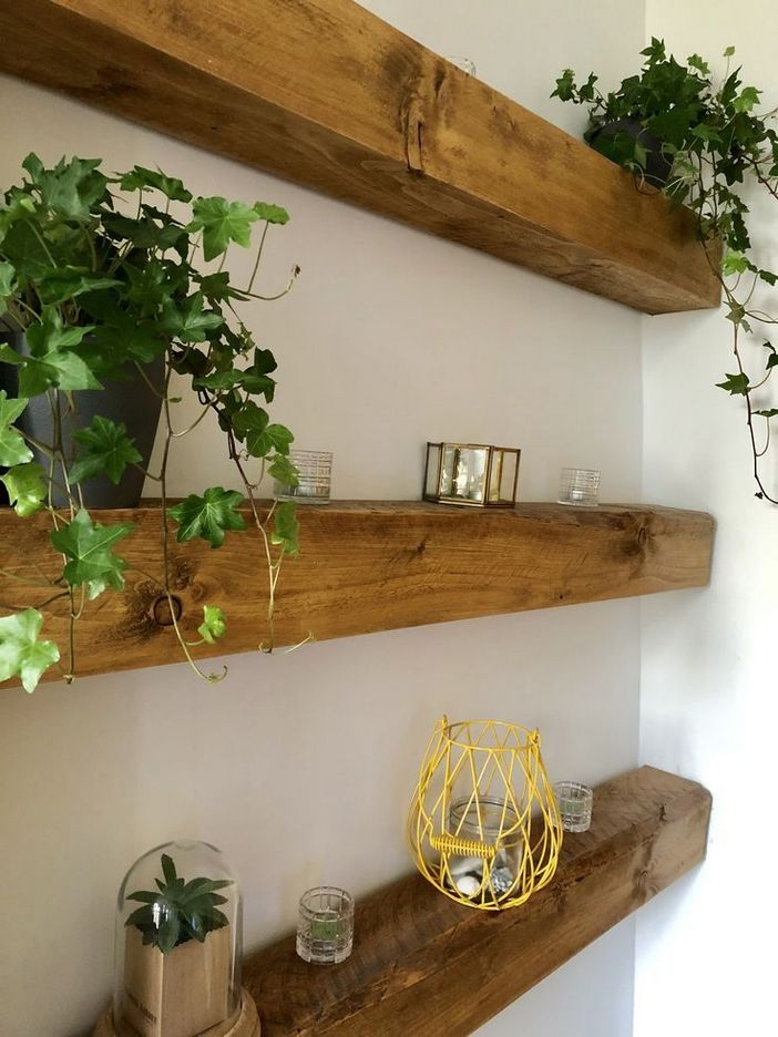 94 Wood Wall Shelves Designs That Inspire To Add To The Beauty Of Your Home Space 13