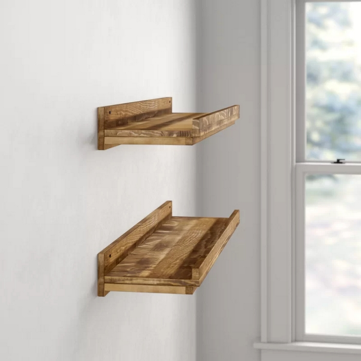94 Wood Wall Shelves Designs That Inspire To Add To The Beauty Of Your Home Space 22