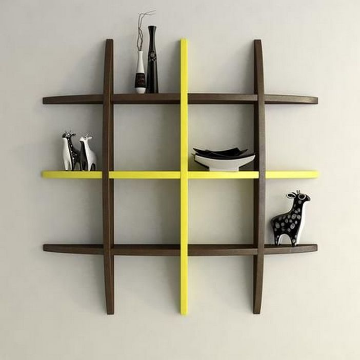 94 Wood Wall Shelves Designs That Inspire To Add To The Beauty Of Your Home Space 24