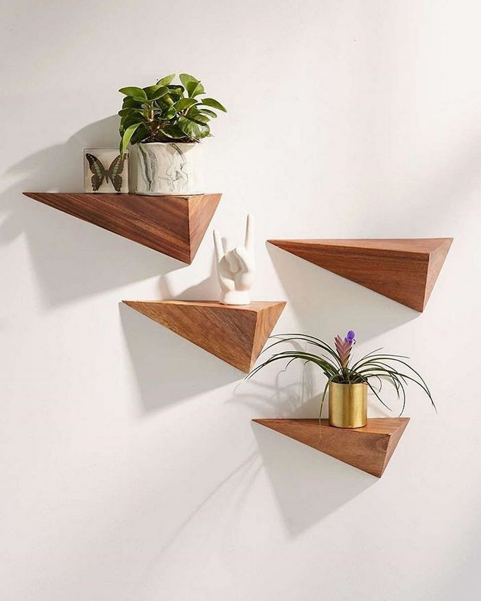94 Wood Wall Shelves Designs That Inspire To Add To The Beauty Of Your Home Space 31