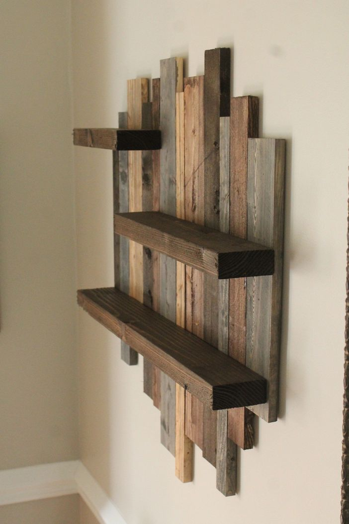 94 Wood Wall Shelves Designs That Inspire To Add To The Beauty Of Your Home Space 53
