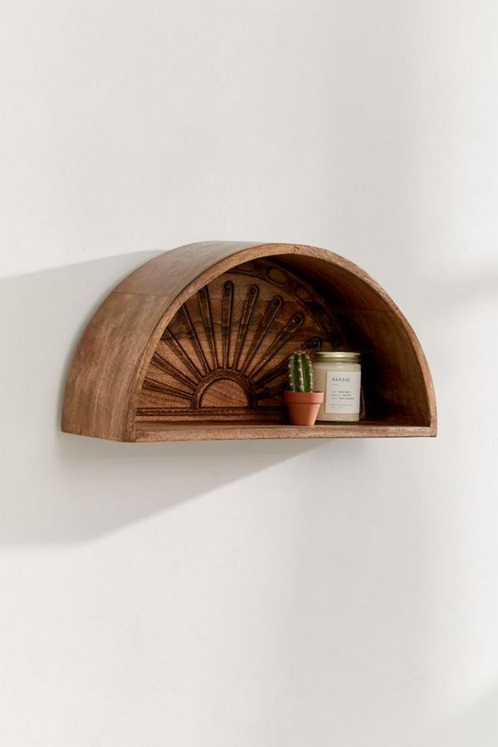 94 Wood Wall Shelves Designs That Inspire To Add To The Beauty Of Your Home Space 82