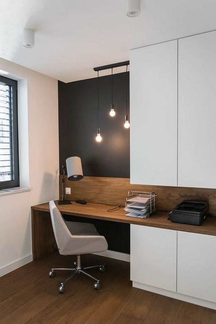 95 Modern Office Decorating Ideas With Inspiring Furniture To Add Style And Functionality To Your Workplace 13