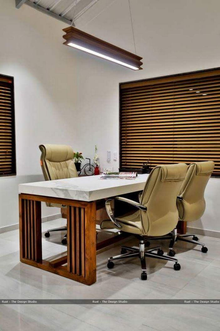 95 Modern Office Decorating Ideas With Inspiring Furniture To Add Style And Functionality To Your Workplace 49