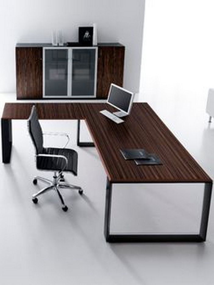 95 Modern Office Decorating Ideas With Inspiring Furniture To Add Style And Functionality To Your Workplace 66