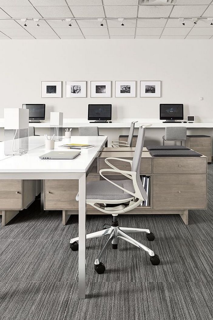 95 Modern Office Decorating Ideas With Inspiring Furniture To Add Style And Functionality To Your Workplace 77