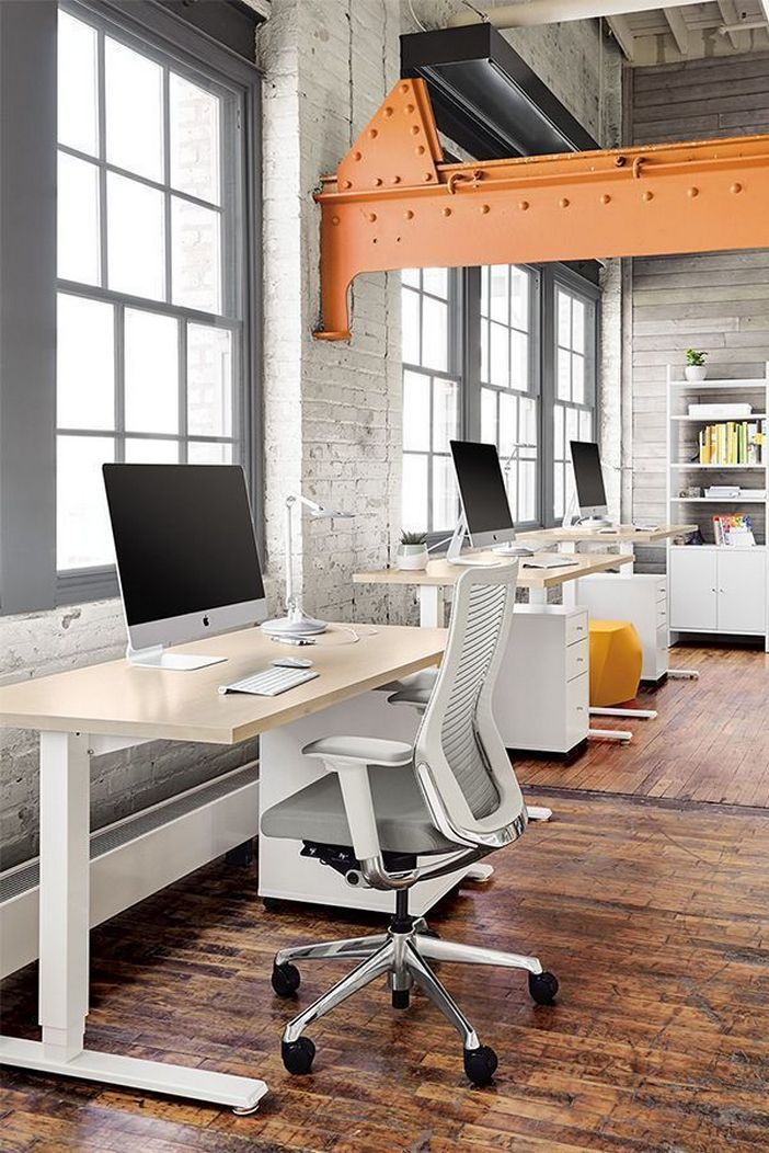 95 Modern Office Decorating Ideas With Inspiring Furniture To Add Style And Functionality To Your Workplace 78