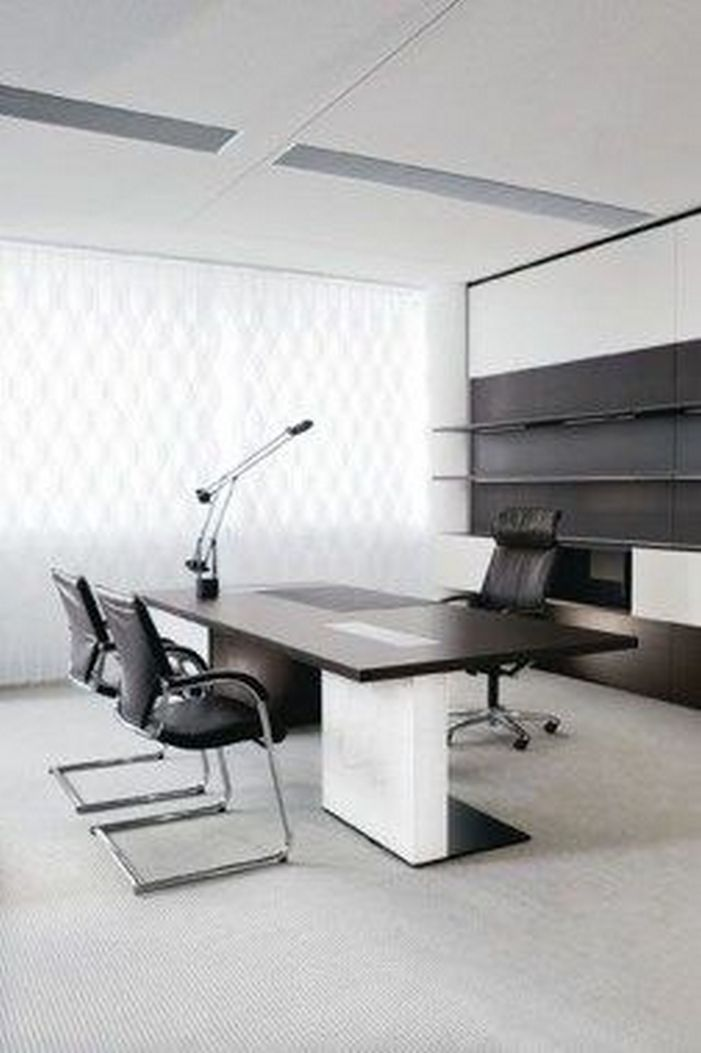 95 Modern Office Decorating Ideas With Inspiring Furniture To Add Style And Functionality To Your Workplace 95
