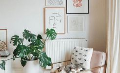 96 Modern Wall Decor Models That Make The Living Room Of Your House Come Alive 16