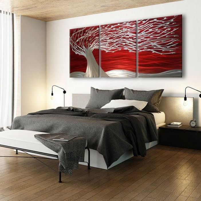 96 Modern Wall Decor Models That Make The Living Room Of Your House Come Alive 21