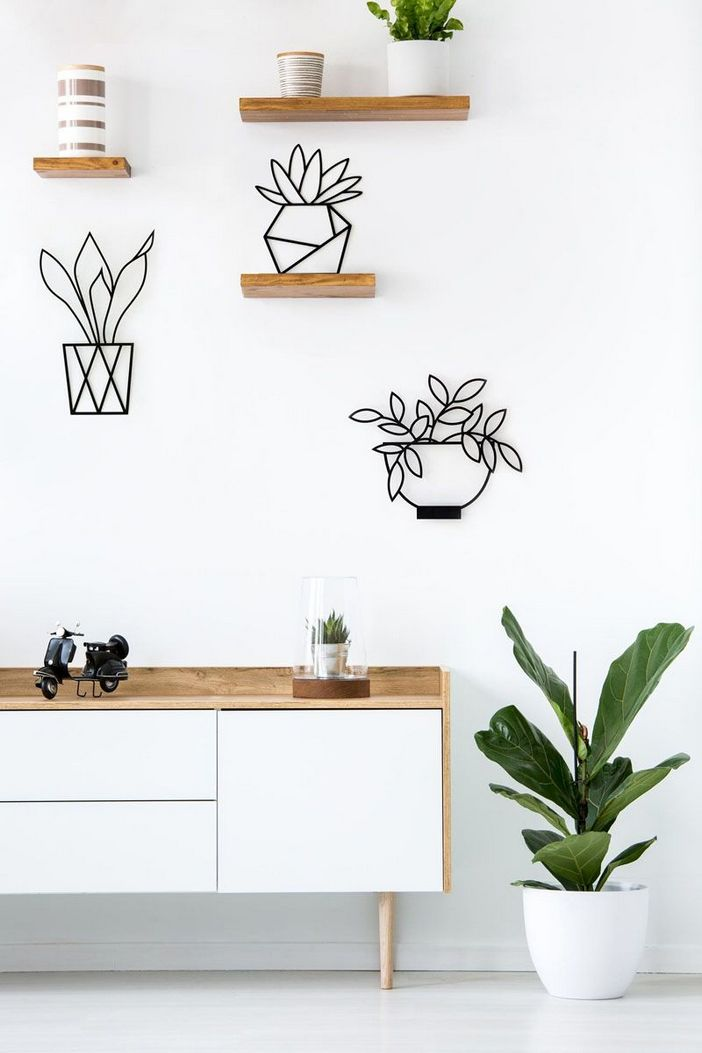 96 Modern Wall Decor Models That Make The Living Room Of Your House Come Alive 47
