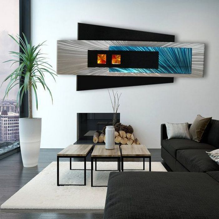 96 Modern Wall Decor Models That Make The Living Room Of Your House Come Alive 59