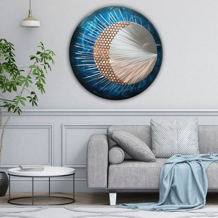 96 Modern Wall Decor Models That Make The Living Room Of Your House Come Alive 84
