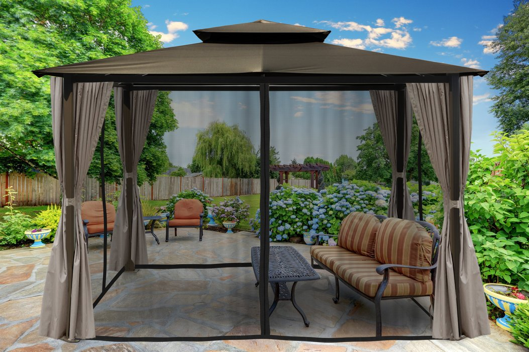 97 Great Patio Gazebo Canopy Design Ideas That Are Great For Replacing Your Gazebo Canopy 19