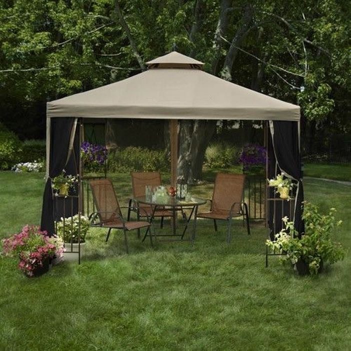 97 Great Patio Gazebo Canopy Design Ideas That Are Great For Replacing Your Gazebo Canopy 32