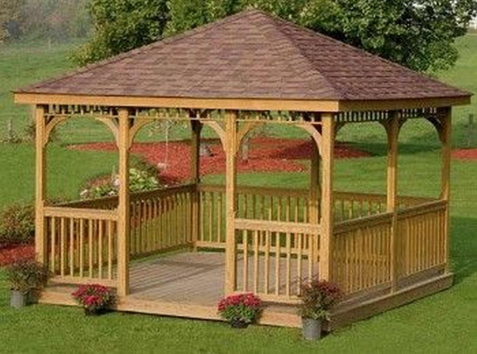 97 Great Patio Gazebo Canopy Design Ideas That Are Great For Replacing Your Gazebo Canopy 39