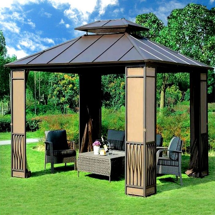 97 Great Patio Gazebo Canopy Design Ideas That Are Great For Replacing Your Gazebo Canopy 43