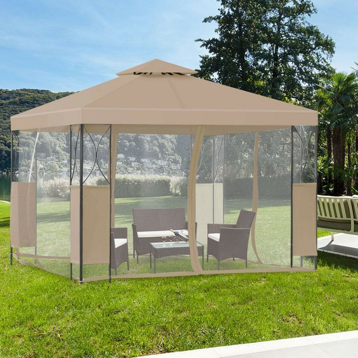 97 Great Patio Gazebo Canopy Design Ideas That Are Great For Replacing Your Gazebo Canopy 46