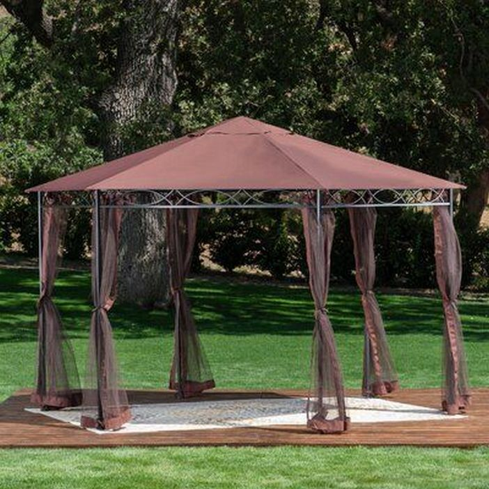 97 Great Patio Gazebo Canopy Design Ideas That Are Great For Replacing Your Gazebo Canopy 49