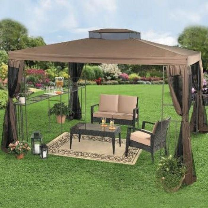 97 Great Patio Gazebo Canopy Design Ideas That Are Great For Replacing Your Gazebo Canopy 53