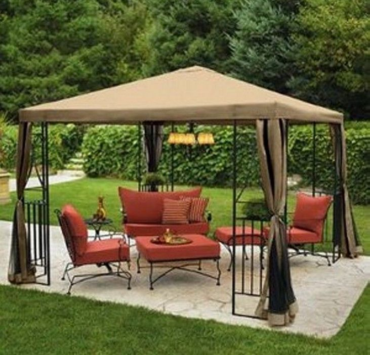 97 Great Patio Gazebo Canopy Design Ideas That Are Great For Replacing Your Gazebo Canopy 57