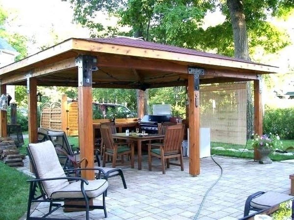 97 Great Patio Gazebo Canopy Design Ideas That Are Great For Replacing Your Gazebo Canopy 60
