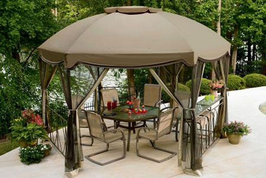 97 Great Patio Gazebo Canopy Design Ideas That Are Great For Replacing Your Gazebo Canopy 70