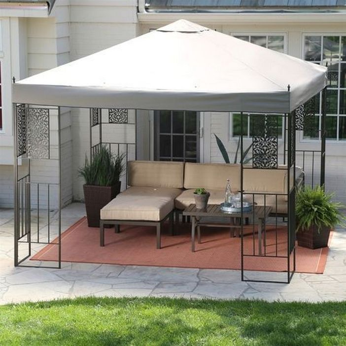 97 Great Patio Gazebo Canopy Design Ideas That Are Great For Replacing Your Gazebo Canopy 73