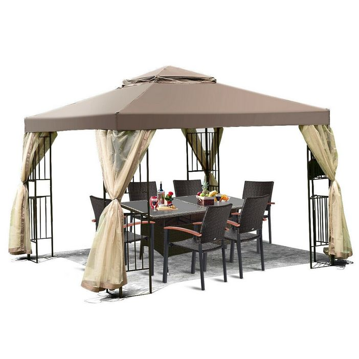 97 Great Patio Gazebo Canopy Design Ideas That Are Great For Replacing Your Gazebo Canopy 78