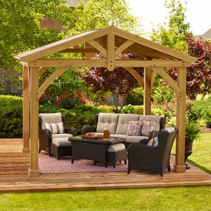 97 Great Patio Gazebo Canopy Design Ideas That Are Great For Replacing Your Gazebo Canopy 82