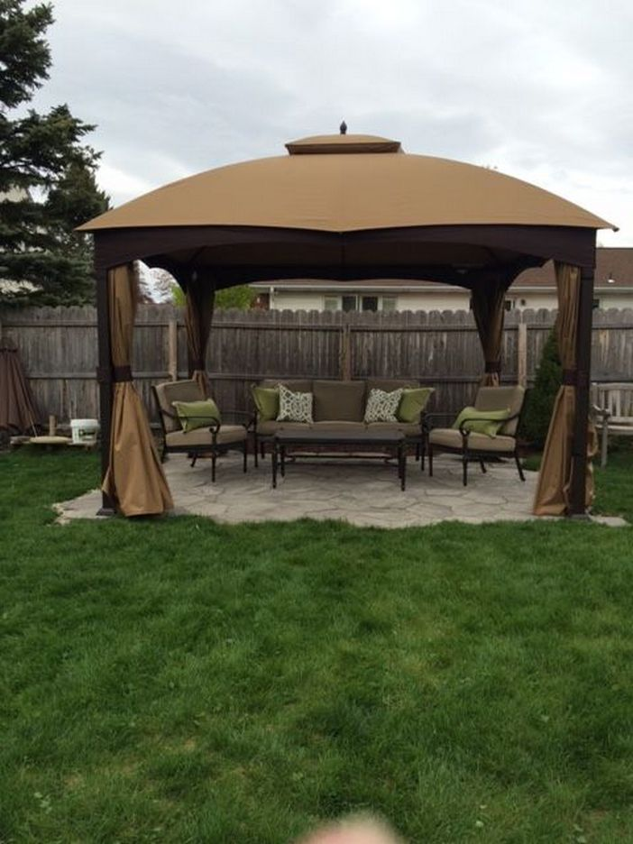 97 Great Patio Gazebo Canopy Design Ideas That Are Great For Replacing Your Gazebo Canopy 83