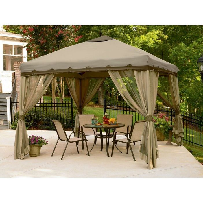 97 Great Patio Gazebo Canopy Design Ideas That Are Great For Replacing Your Gazebo Canopy 84