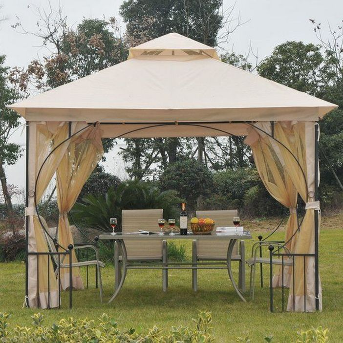 97 Great Patio Gazebo Canopy Design Ideas That Are Great For Replacing Your Gazebo Canopy 87