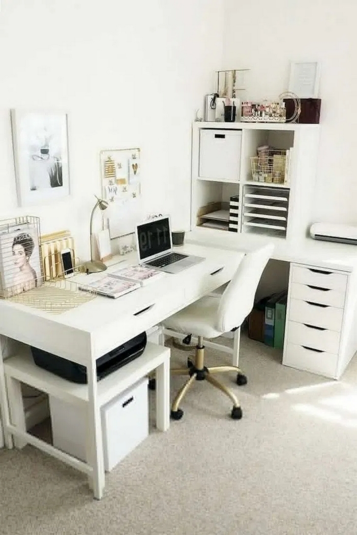 98 Perfect Home Office Decoration Models And Tips For Making Them 1
