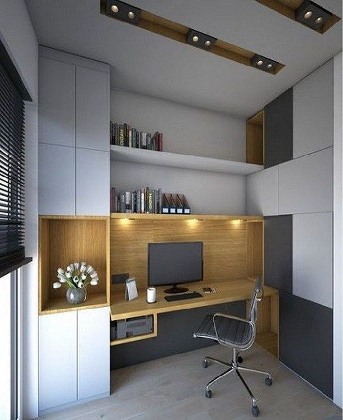 98 Perfect Home Office Decoration Models And Tips For Making Them 14