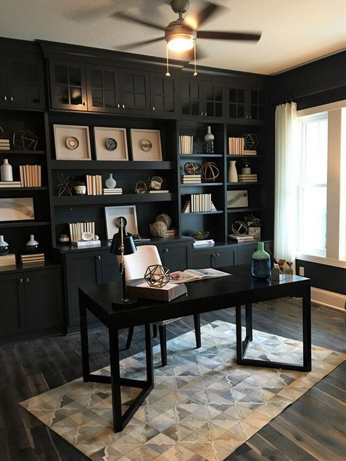 98 Perfect Home Office Decoration Models And Tips For Making Them 16